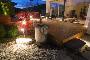 lampes, luminaires de jardins