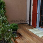 le bois exotique construction terrasse directement sur dalles béton