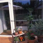 terrasse surelevée en bois exotique ipé