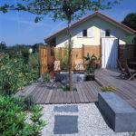 terrasses en ipé avec passe-pied japonais