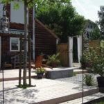 lame ipé avec terrasse contemporaine