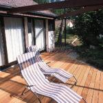 relaxation sur terrasse en bois exotique ipé vis invisibles