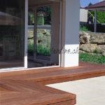 détail terrasse en bois exotique ipé deck