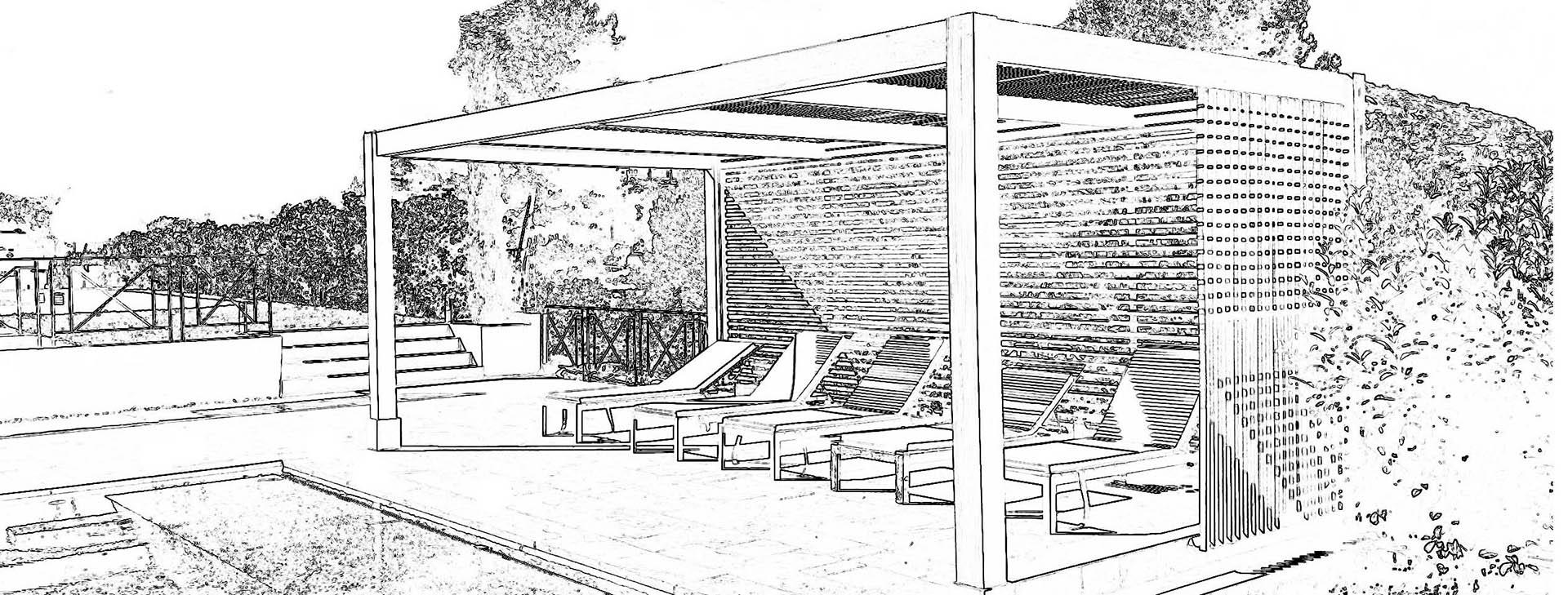 projet-pergola-bioclimatique-piscine-bois-exotique